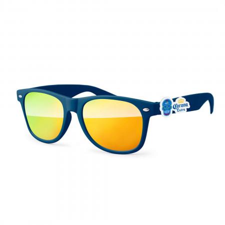 Corona Blue And Yellow Dia De Los Muertos Sunglasses